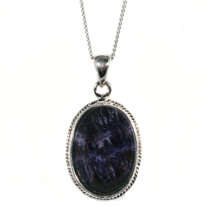 Pendants silver rope edge signature blue john silver blue john pendant and chain signature aloadofball Image collections