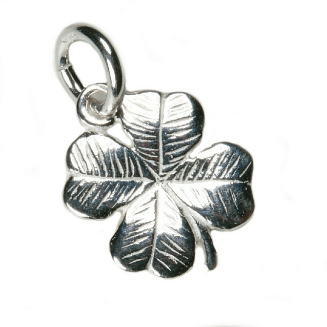 Silver four leaf clover charm mozeypictures Image collections