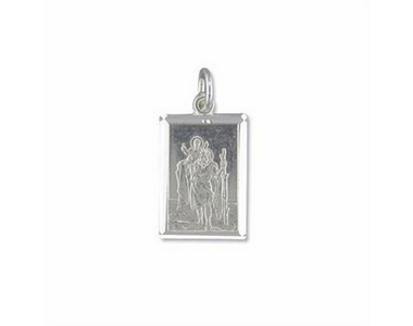 Pendants - St Christopher Oblong
