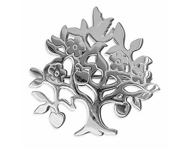 Brooches - Silver Tree of Life