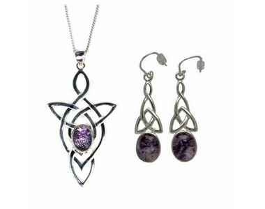 Blue John (Derbyshire) and Silver Celtic