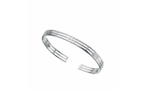 Silver Mackintosh Bangle SB35