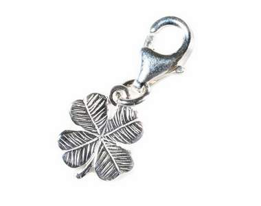 Charms - Silver Four Leaf Clover
