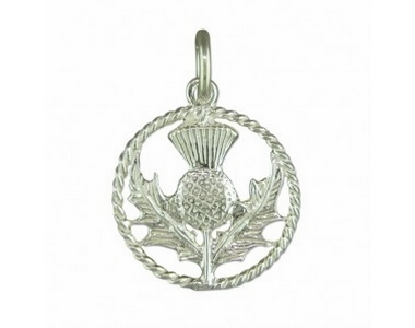 Charms - Silver Thistle