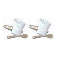 Chef / Cook Cufflink Set