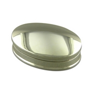 Silver Oval Keeper/Pill Box
