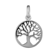 Silver Tree of Life Pendant and Chain
