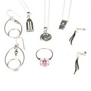 Silver - Mixed Package of Jewellery - Package No. 6  (6 Pieces)