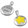 Silver Shining Star Locket and Chain