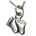 Pendants - Silver Feet