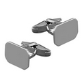 Silver Oblong Cufflinks