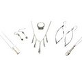 Silver - Mixed Package of Jewellery - Package No. 4  (6 Pieces)