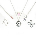 Silver - Mixed Package of Jewellery - Package No. 5  (6 Pieces)