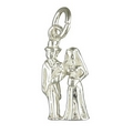 Charms - Silver Bride and Groom