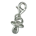 Charms - Silver Dummy