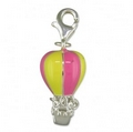 Charms - Silver / Coloured Hot Air Balloon