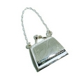 Silver Handbag Keeper/Pill Box