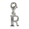 Charms - Silver Initial 'R'