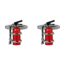 Fire Extinguisher Cufflinks Set