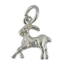 Charms - Silver Goat (Capricorn)