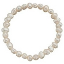Bracelets - White Pearls