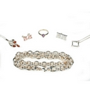 Silver - Mixed Pieces Package of Jewellery - Package No. 2   (6 Pieces)