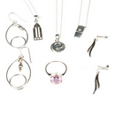 Silver - Mixed Collection of Jewellery - Collection No. 6  (6 Pieces)