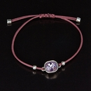 Pink Crystal Friendship Bracelet