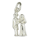 Silver Bride and Groom Charm/Pendant