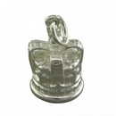Silver Coronation Crown Charm/Pendant