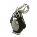 Silver / Coloured Enamel Penguin - Clip-on