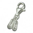 Charms - Silver Ballet Shoes